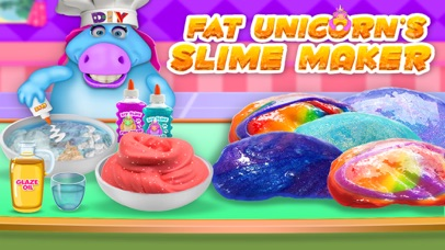 Mr. Fat Unicorn Slime Making screenshot 1