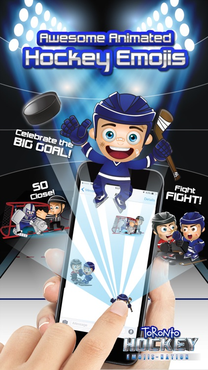 Toronto Hockey Emojis screenshot-1