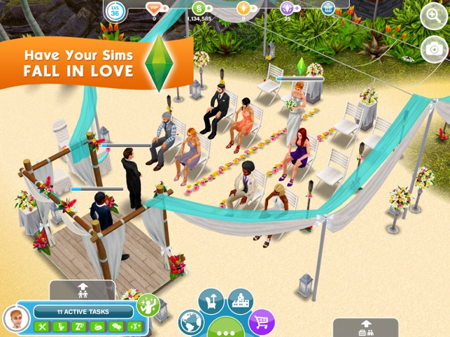 The Sims™ FreePlay on the App Store on
