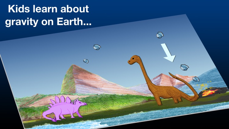 Patrick's Dinosaur: Space Dino screenshot-0