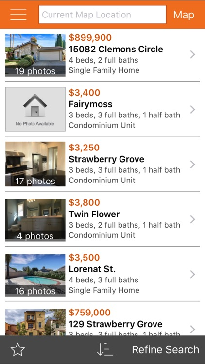 HomeFinder.com Home Search