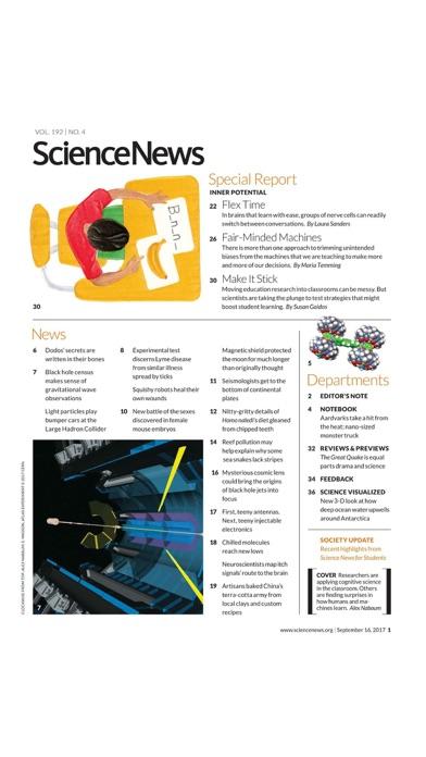 Science News Magazine