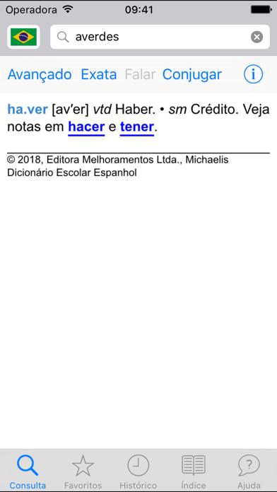 Michaelis Escolar Espanholのおすすめ画像3