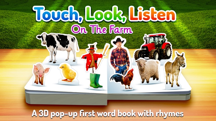 On The Farm ~ Touch, Look, Listen screenshot-0