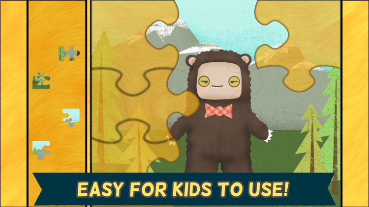 Monster Games for Kids: Jigsaw Puzzles HD - Gold