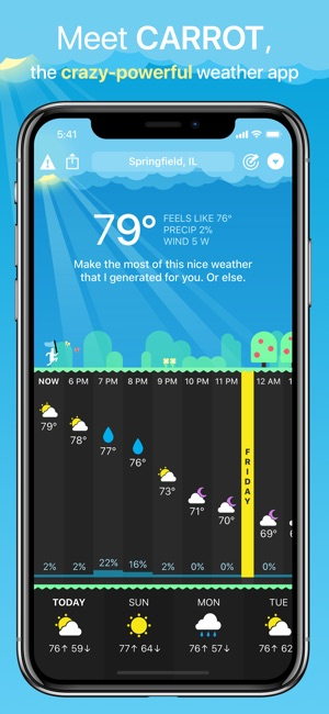 CARROT Weather On The App Store