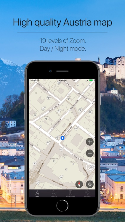 Austria Offline Navigation