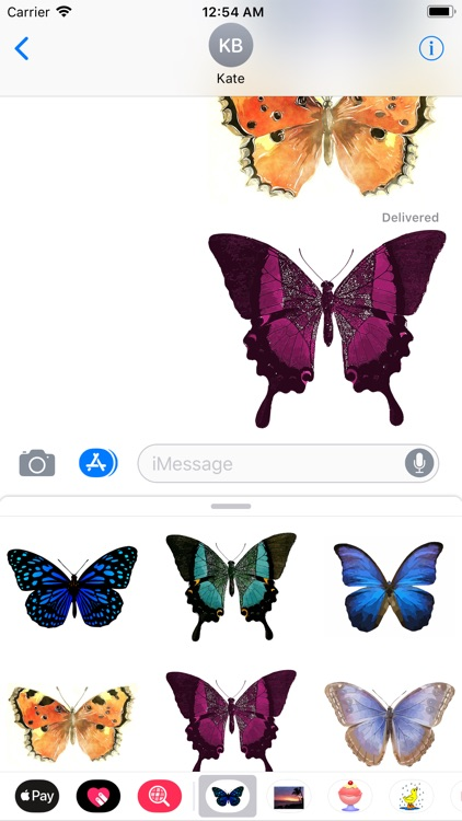My Butterfly Sticker Pack screenshot-4
