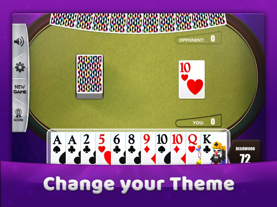 gin rummy cards game  online game hack and cheat