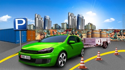 Car Parking:Trailer Challenge-0