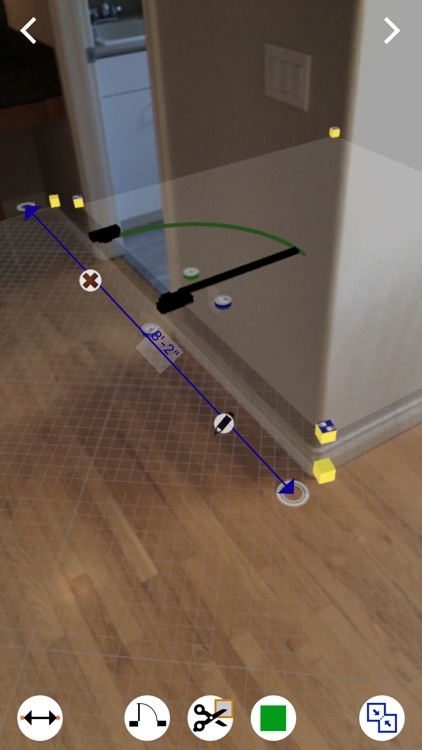 FloorArea AR dimensions screenshot-0