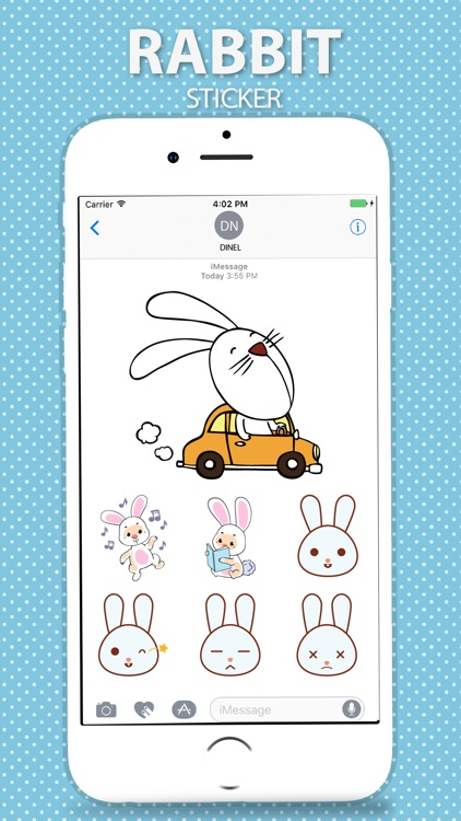 Rabbit Stickers Pack