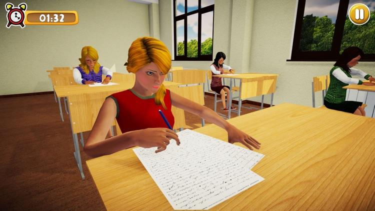 School Girl Life Simulator 3D screenshot-6