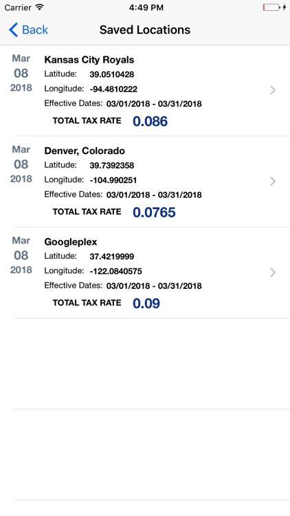 Streamline Sales Tax Rates screenshot-5