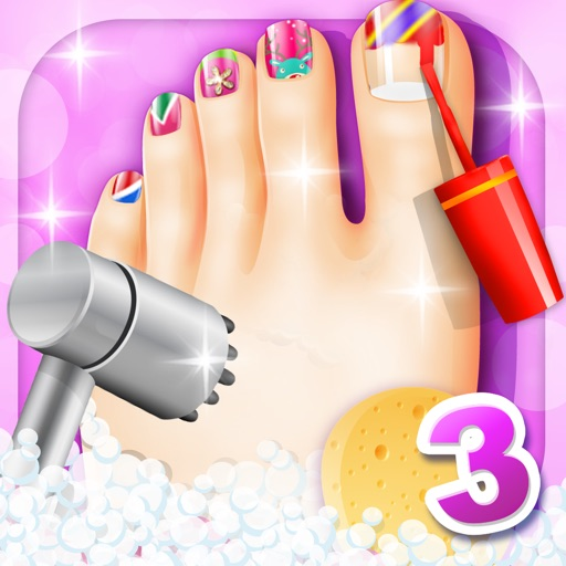 Foot Spa - Fun games