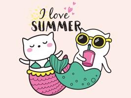 Animated Cat Unicorn Stickers