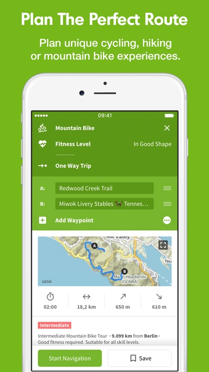 Komoot - Cycling & Hiking Routes & GPS Navigation screenshot-0