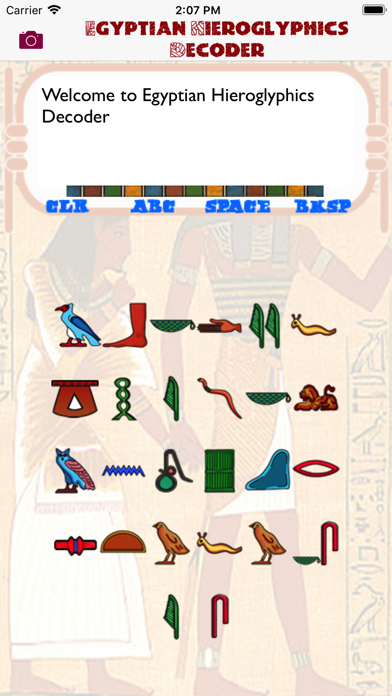 Egyptian Hieroglyphics Decoderのおすすめ画像3