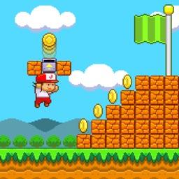 Super Jim Jump:  Classic Platform Game