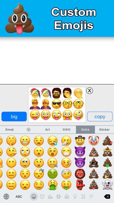New Emoji - Extra Smileys screenshot three