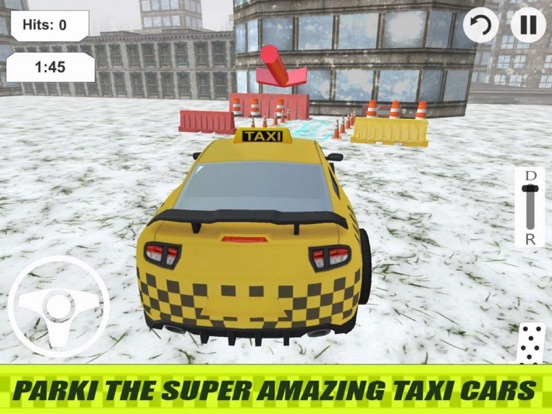 Lever Taxi Parking City screenshot 6