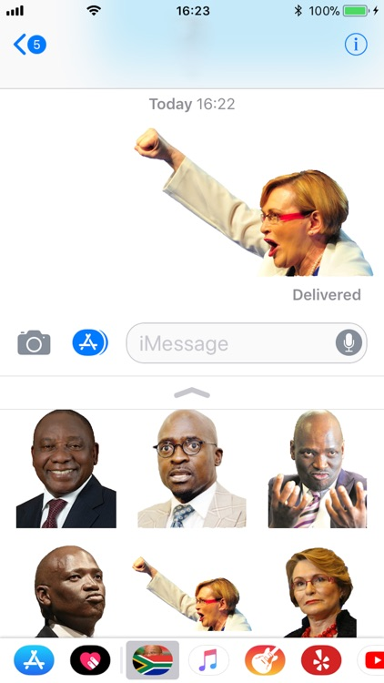 SA Political Stickers