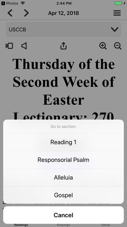 Mass Readings and Prayers screenshot-3