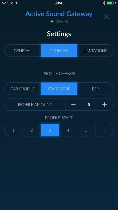 Active Sound Gateway BLEScreenshot von 4