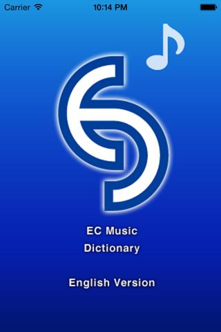 EC music dictionary (English) - náhled