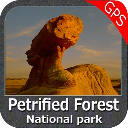 Petrified Forest National Park - GPS Map Navigator
