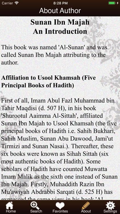 Sunan Ibn Majah screenshot-3