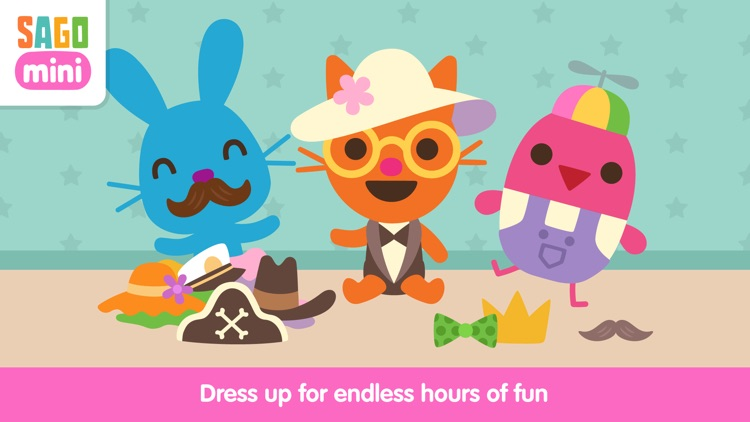 Sago Mini Babies Dress Up screenshot-0