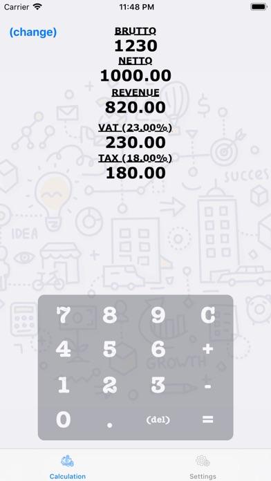 TaxCalc (lite) screenshot two