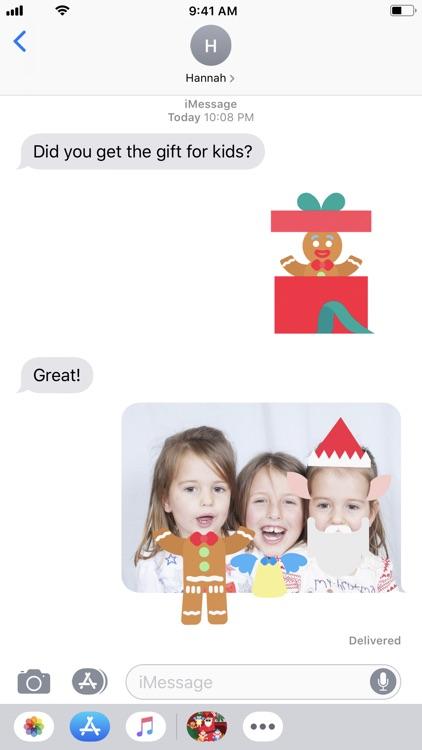 Christmasmoji AR screenshot-0