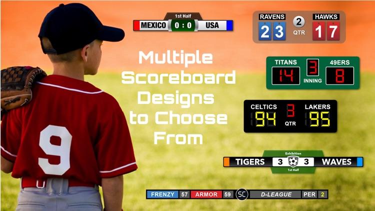 ScoreCam - Embedded Scoreboard