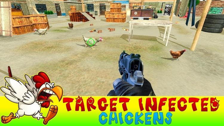 Crazy Chicken Shooting Pro screenshot-3