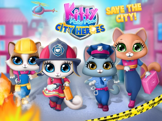 Kitty Meow Meow City Heroes screenshot 9