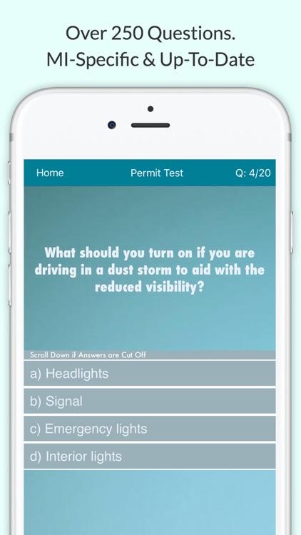 Michigan Driving License Test
