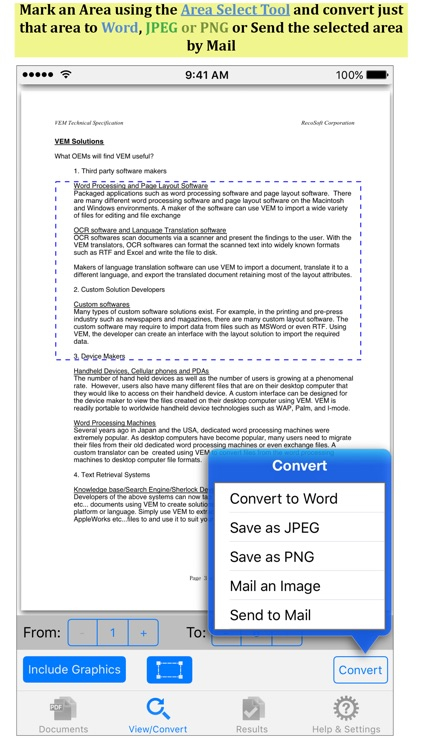 PDF to Word by PDF2Office
