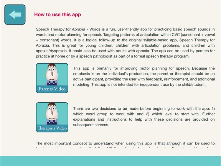Speech Therapy for Apraxia-2 screenshot-4