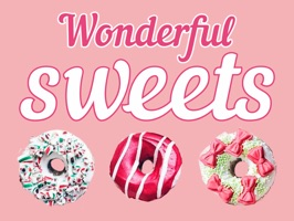 Sticker Pack with Wonderful Sweets