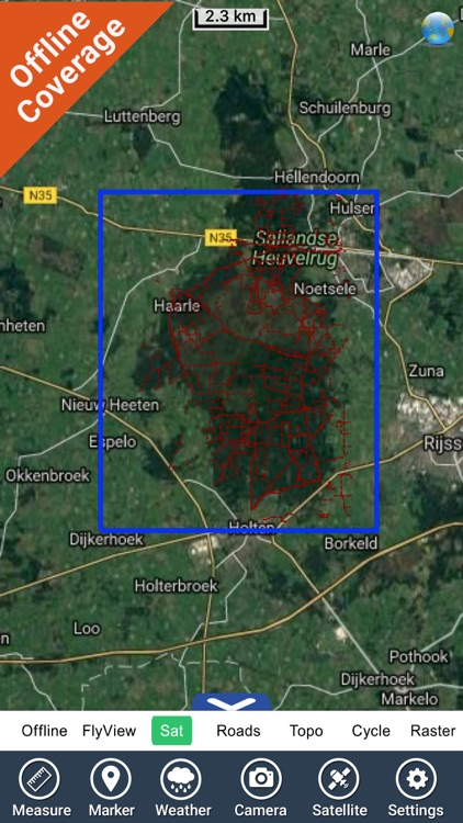 Sallandse Heuvelrug NP GPS and outdoor map screenshot-4