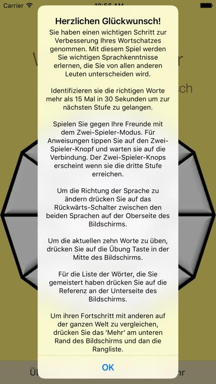 Vocabulary Trainer: German - Swedish screenshot-4