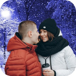 SnowFall Photo Effect