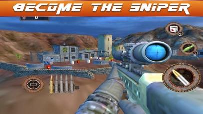 Sniper Fury 3D Assassin War screenshot 2