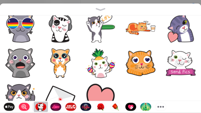 Screenshot for Angry Kitten iMessage Stickers in Kazakhstan App Store