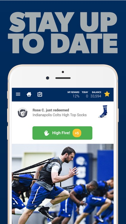 Indianapolis Football Louder Rewards screenshot-3