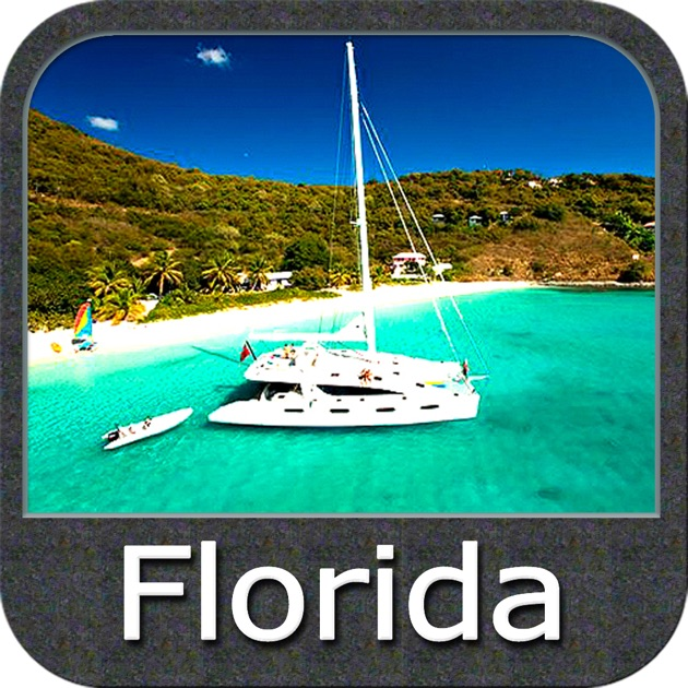 Boating Florida Nautical Chart On The App Store