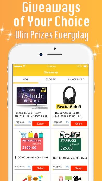 Giveaway App: FortuneBox - AppRecs
