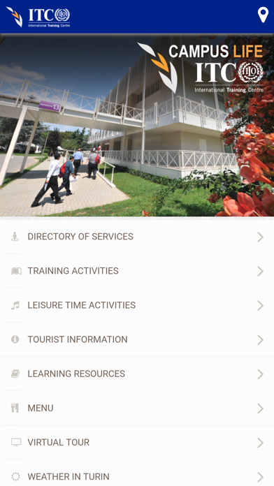 ITCILO Campus Life screenshot one